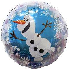 Balon folie 45cm Olaf, Amscan 30648