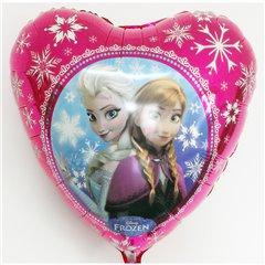 "Frozen Heart Shaped Foil Balloon, Amscan, 18"", 30402st"
