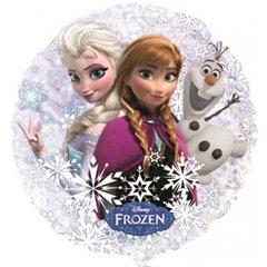 "Frozen Circle Foil Balloon - Anna, Elsa, Olaf, Amscan, 22"", 30200"