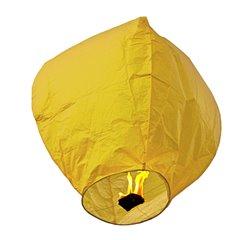 Lampion zburator galben pentru petreceri si evenimente, Radar LC.GALBEN