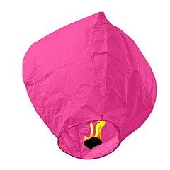 Lampion zburator roz pentru petreceri si evenimente, LC.ROZ