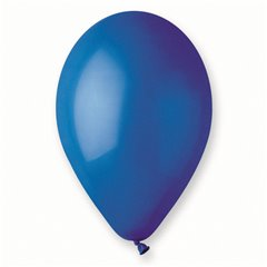 Blue 46 Latex Balloons , 10 inch (26 cm), Gemar G90.46, Pack Of 100 pieces