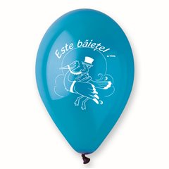 "Latex Balloons Printed with ""Este Baietel"", Radar GI.EB.T1"