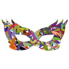 Colorful Party Mask - Type 2, Radar SMFIT.MASCA2