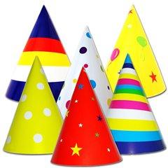 Coifuri de petrecere 20cm cu desene - Adulti, Radar SMFIT.C20DE