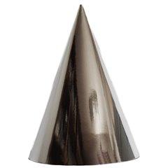 Coifuri de petrecere 20cm argintiu metalizat - Adulti, Radar SMFIT.C20.ARGINTIU