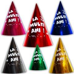 """Coifuri de petrecere 20cm inscriptionate """"La multi ani!"""" - Adulti, SMFIT.C20.INSCR"""