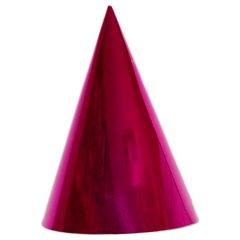 Coifuri de petrecere 20cm roz metalizat - Adulti, Radar SMFIT.C20.ROZ
