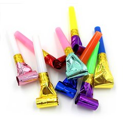 Assorted Party Blowouts - 6 cm, Radar S6.2ASS