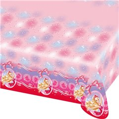 Barbie Pink Shoes Plastic Tablecover - 180x120cm, Amscan RM552388,1 piece