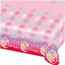 Barbie Pink Shoes Plastic Tablecover - 180x120cm, Amscan RM552388,1 piece