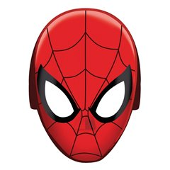 Spiderman Paper Mask, Amscan RM360093-55, Pack of 8 pieces