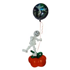 Aranjament Baloane Halloween - Skeletron & Pumpkin, Radar HW.SP