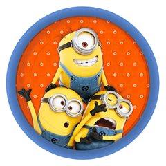 Farfurii cu Minioni pentru petreceri copii - 23 cm, Amscan 997970, Set 8 buc