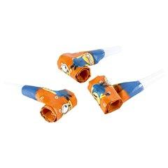 Suflatori cu Minioni pentru petreceri copii, Amscan 997980, Set 6 buc