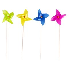 Garden Party Cake Picks, Amscan RM551720, Pack of 8 pieces
