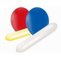 Baloane latex cu diferite forme, Asortate, Amscan 110827, Set 25 buc