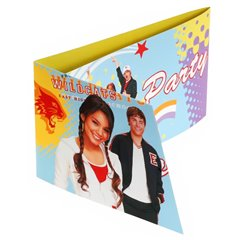 Invitatii de petrecere High School Musical, Amscan 551388, Set 6 buc