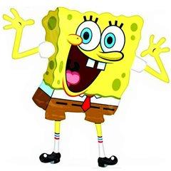 Balon folie figurina SpongeBob, Amscan 22929