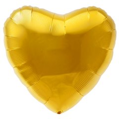 Balon Folie Figurina Inima Uni Aurie - 80cm, Radar F206500O