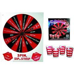 Joc de petrecere pentru adulti - Sip or Strip, OOTB 79/3939, 1 buc