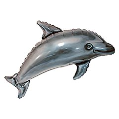 Dolphin SuperShape Foil Balloon - 56x95cm, Radar F901602