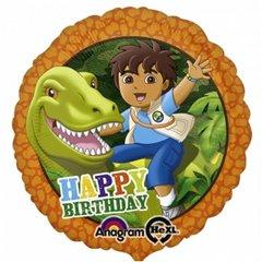 "Diego Happy Birthday Foil Balloon - 18""/45cm, Amscan 2708601"