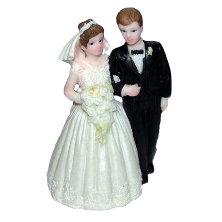 Figurina Tort Nunta Cu Mire Si Mireasa Radar Gdfx23020 1 Buc
