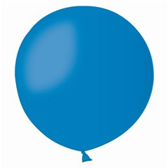 Balon Latex Jumbo 48 cm, Albastru 10, Gemar G150.10