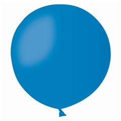Blue 10 Jumbo Latex Balloon, 19 inch (48cm), Gemar G150.10
