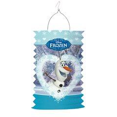 Felinar cilindru hartie cu Frozen, Amscan 999348