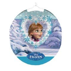 Felinar rotund hartie cu Frozen, Amscan 999347