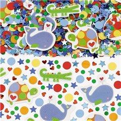 Baby Boy Blue Confetti, Amscan 361117