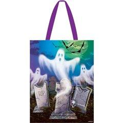 Sacosa cu fantome pentru Halloween - 30x37cm, Amscan 379869