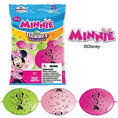 Banner Party din baloane latex Minnie Mouse - 3m, Qualatex 15054