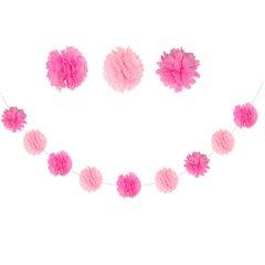 Ghirlanda decorativa balet din hartie roz, Amscan 998314