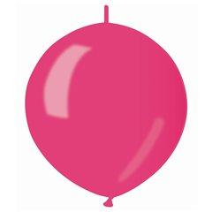 "Fuchsia 64 Metallic Cony Latex Balloons , 13""/33cm, Gemar GLM13.64, Pack of 100 pieces"