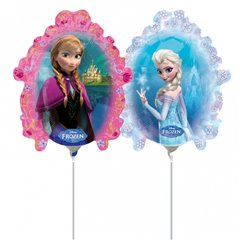 Balon Folie Mini-Figurina Frozen, Amscan 3016202