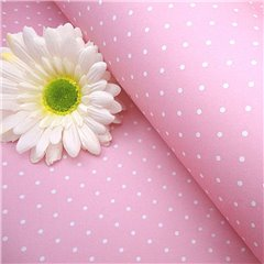 Polka Dot Gift Packing Pink Paper - 70x100cm, Radar B59758