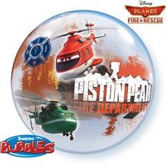 Planes Fire & Rescue Bubble Balloon - 22''/56cm, Qualatex 18523