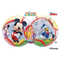 Mickey Mouse Club Bubble Balloon - 22''/56cm, Qualatex 41067