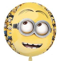 Balon Folie Sfera Orbz Minion, 38 cm X 40 cm, 2995901