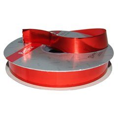 Red Metallic Curling Ribbon 19mm, Radar B11030, 1 Roll