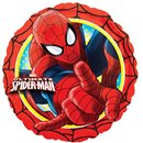 Spider-Man Action Circle Foil Balloon - Standard, Amscan 26350, 1 piece