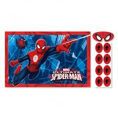 Spider-Man Party Game, Amscan 271355-55, 4 pieces