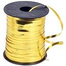 Rafie metalizata oro (aurie) pentru legat baloane latex sau folie - 100 m, Radar B36104, 1 rola