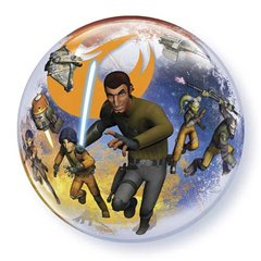 "Balon Bubble 22""/56cm Star Wars Rebels, Qualatex 10589"