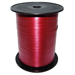 Burgundy Curling Ribbon 5mm x 500m, Radar B65693, 1 Roll