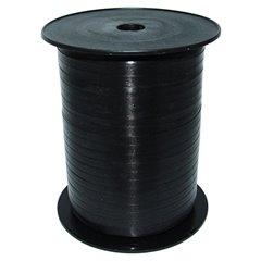Black Curling Ribbon 5mm x 500m, Radar B65706, 1 Roll