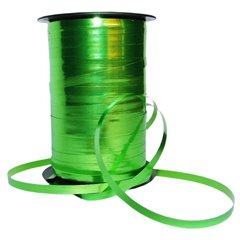 Rafie metalizata Mela(verde lime) pentru baloane - 100 m, Radar B53265